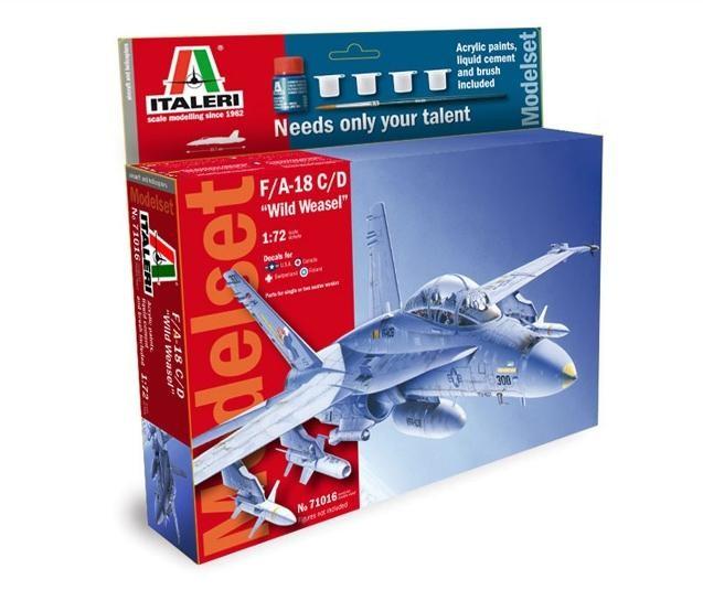 9a2ce65b8ab Italeri ITALERI Model set 'home play' F/A-18 C/D MI-71016 € 24.60