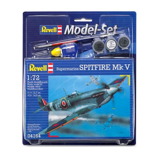 f02f6308046 Liimitavad mudelid. Revell Model set Spitfire mkV MR-64164 ...
