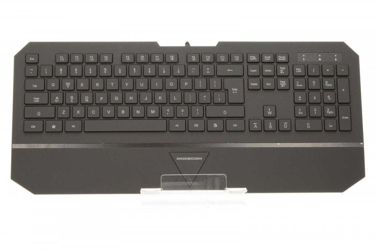 Клавиатура DELL KB216 черный USB 580-ADGR