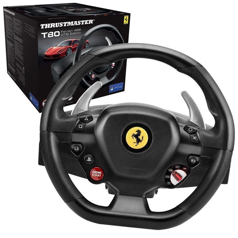 004fa88d9c3 Thrustmaster Steering wheel T80 Ferrari 488 GTB Edition PC / PS4 4160672 €  99.80