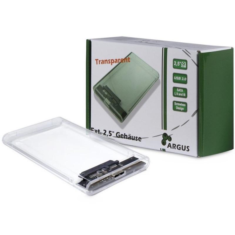78e10876c6b HDD Case Argus GD-25000, USB 3.0, transparent